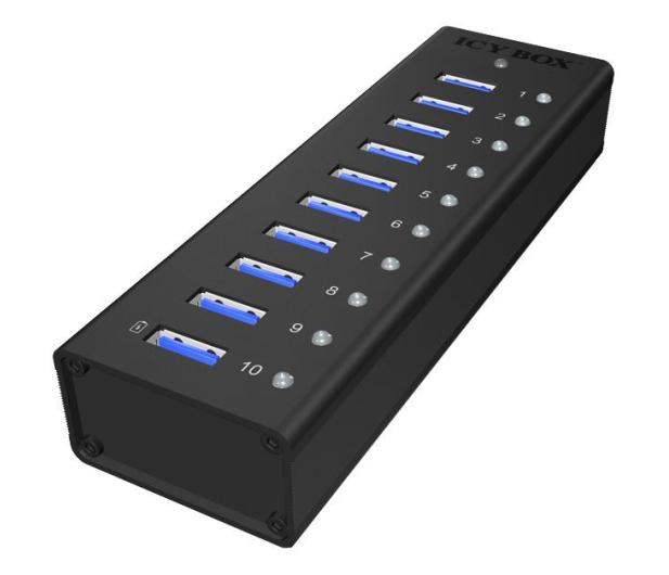 ICY BOX HUB USB 3.0 - 10x USB 3.0 - 622620 - zdjęcie 3