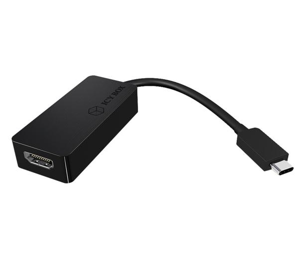 ICY BOX Adapter USB-C - HDMI 4096x2160@60 Hz - 622662 - zdjęcie