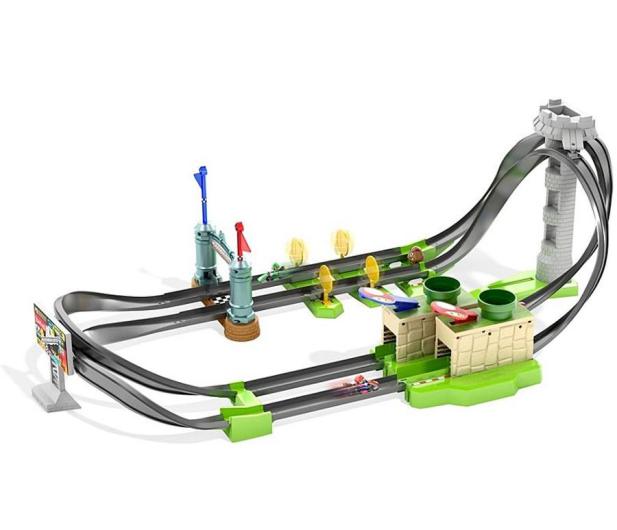 Hot Wheels Mario Kart Mario Circuit Track Set - 1015366 - zdjęcie