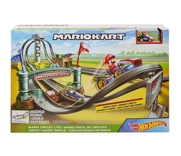 Hot Wheels Mario Kart Mario Circuit Track Set - 1015366 - zdjęcie 2