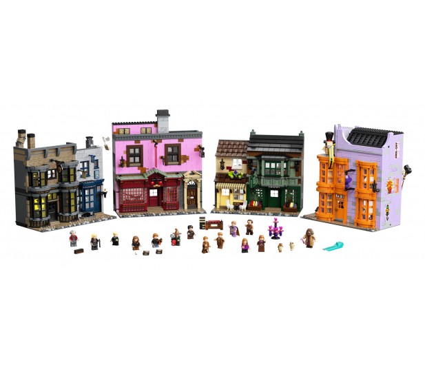 LEGO Harry Potter Ulica Pokątna - 1015417 - zdjęcie 3