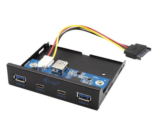 i-tec Panel przedni wewnętrzny USB USB-C / USB 3.0 - 604121 - zdjęcie