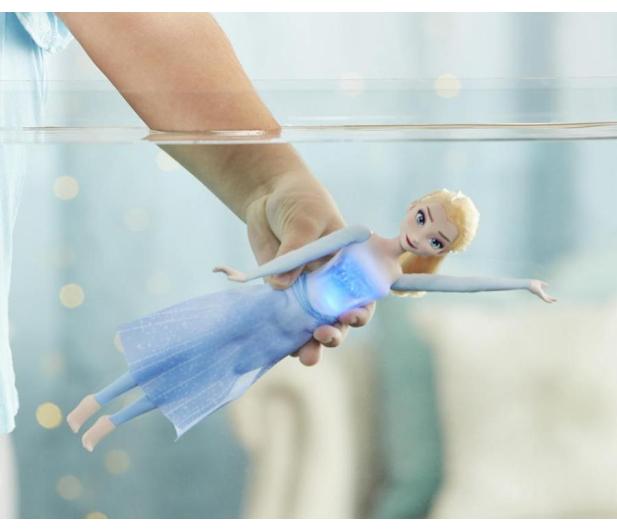 Hasbro Frozen 2 Pływająca i świecąca Elsa - 1015265 - zdjęcie 3