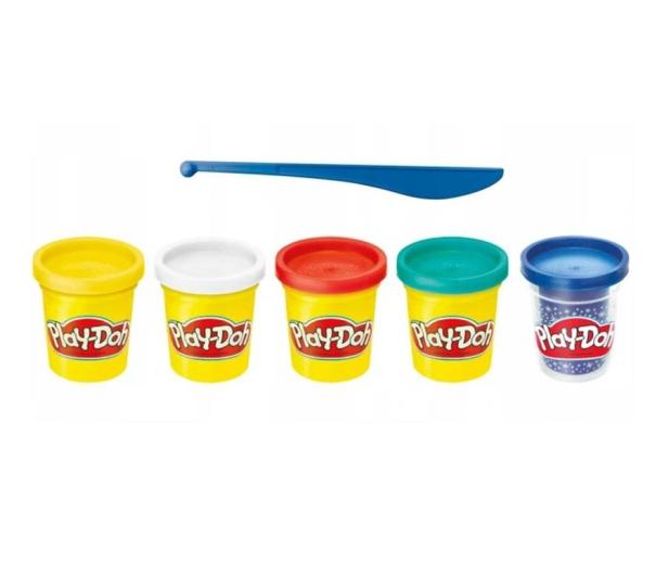 Play-Doh Celebration pack 65 urodziny 4+1 - 1015269 - zdjęcie 2