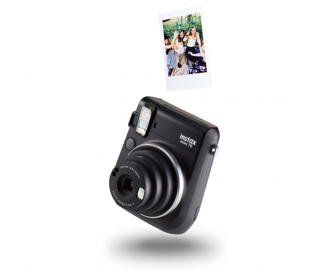 Fujifilm Instax Mini 70 czarny+ wkłady 2x10+ etui czerwone - 619877 - zdjęcie 5