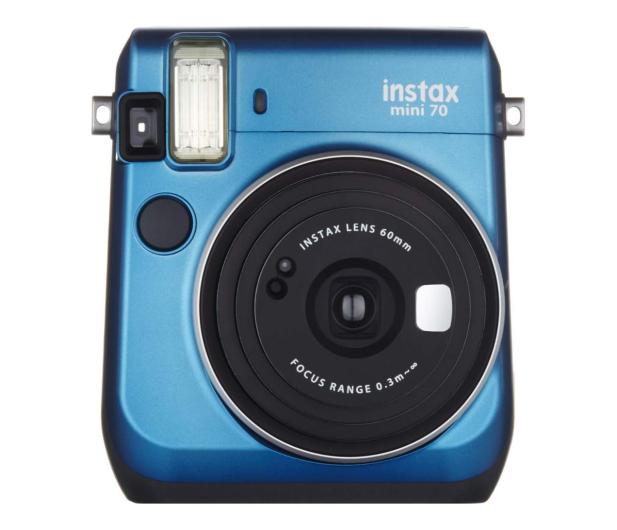 Fujifilm Instax Mini 70 niebieski + wkłady 2x10+ etui - 628405 - zdjęcie