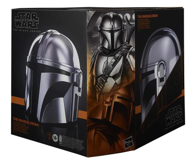 Hasbro Star Wars Mandalorian Black Series Hełm - 1015533 - zdjęcie 2