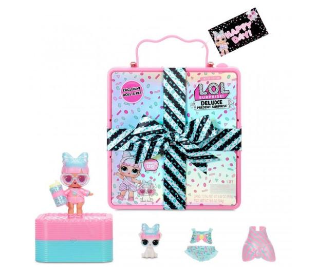 L.O.L. Surprise! Deluxe Present Surprise- Pink - 1014450 - zdjęcie