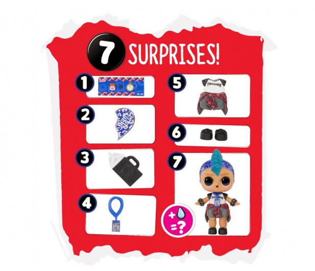 L.O.L. Surprise! BFF Sweethearts Punk Boi - 1014821 - zdjęcie 5