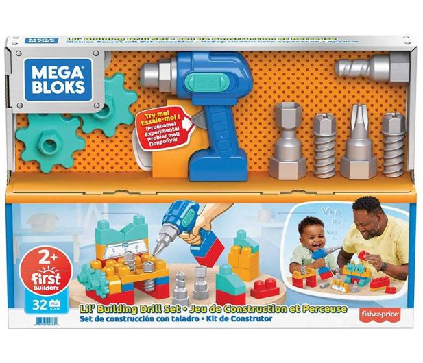 Mega Bloks Wiertarka Małego Majsterkowicza - 1015752 - zdjęcie 2