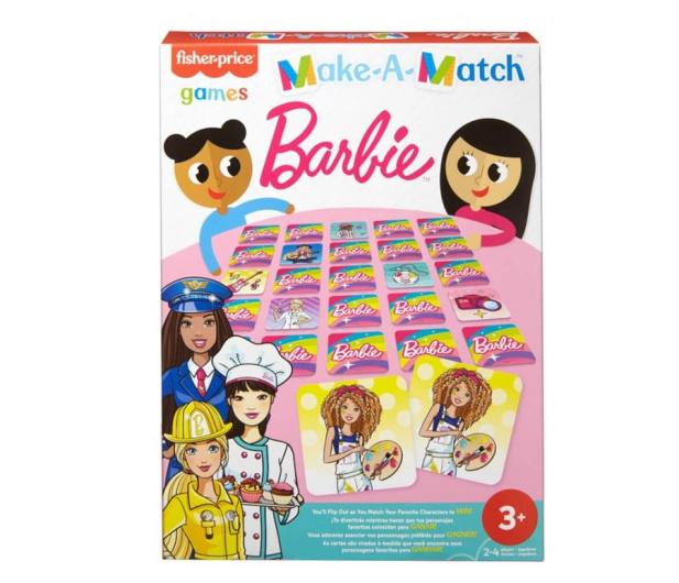 Fisher-Price Memory dla dzieci Barbie - 1015754 - zdjęcie