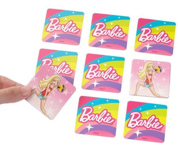 Fisher-Price Memory dla dzieci Barbie - 1015754 - zdjęcie 3
