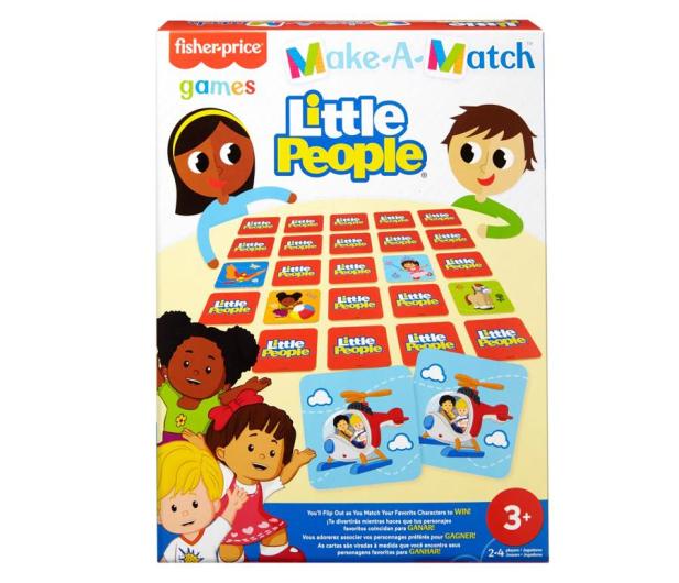 Fisher-Price Memory dla dzieci Little People - 1014015 - zdjęcie