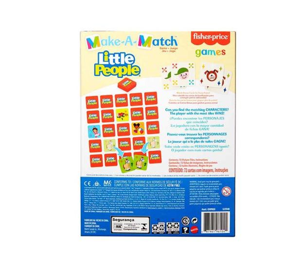 Fisher-Price Memory dla dzieci Little People - 1014015 - zdjęcie 4