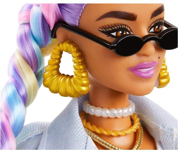 Barbie Fashionistas Extra Moda Lalka z akcesoriami - 1015897 - zdjęcie 4