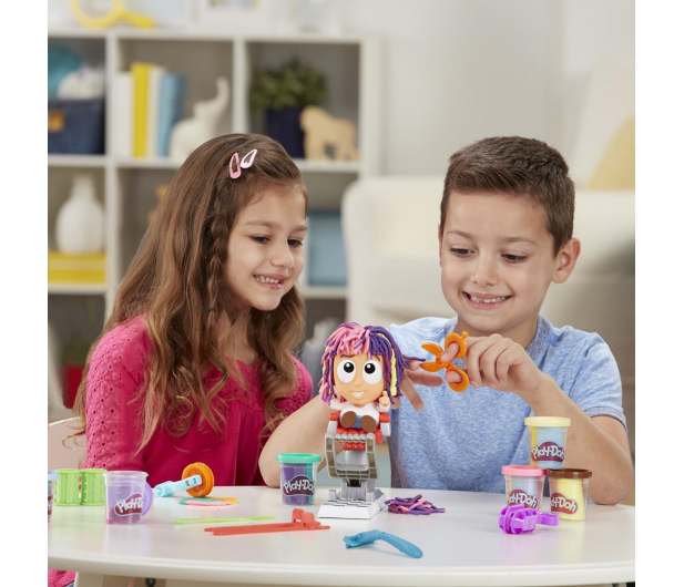 Play-Doh Fryzjer nowy zestaw - 1014939 - zdjęcie 5