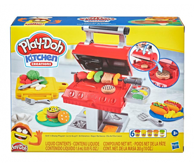Play-Doh Zestaw Grill - 1014945 - zdjęcie