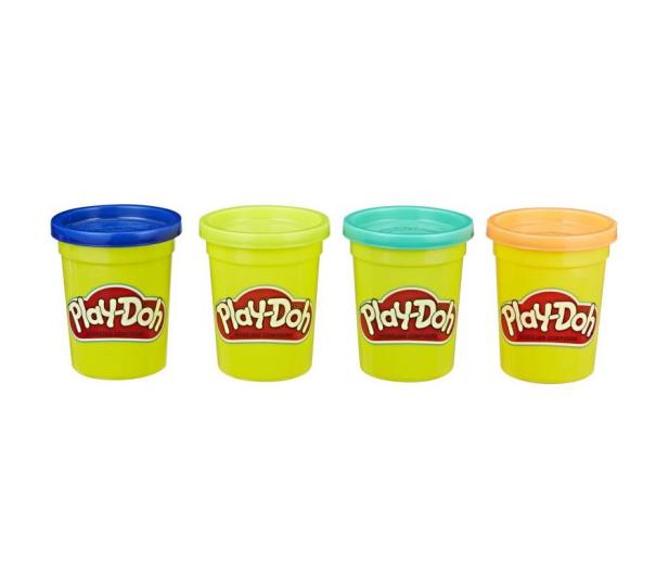 Play-Doh Tuby 4-pak wild - 1014947 - zdjęcie