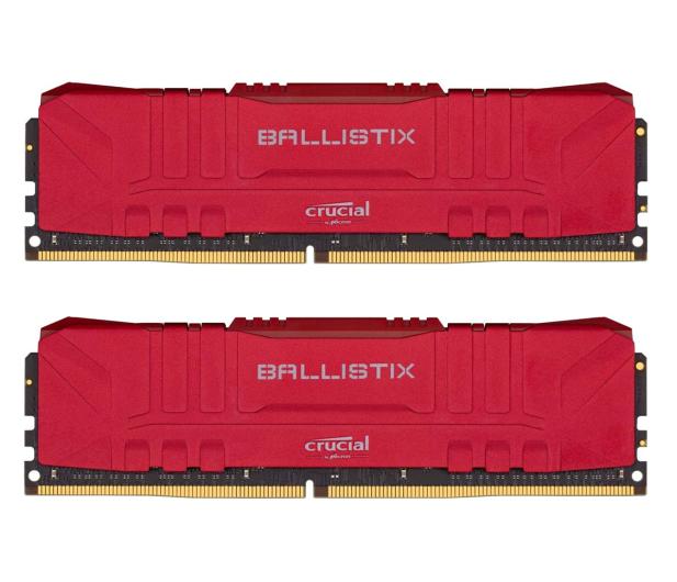 Crucial 16GB (2x8GB) 3200MHz CL16 Ballistix Red - 624970 - zdjęcie
