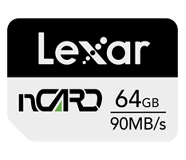 Lexar 64GB nCARD NM for Huawei® phones 90MB/s - 628585 - zdjęcie
