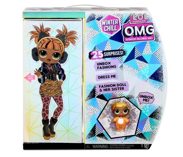 MGA Entertainment LOL SURPRISE OMG Winter Chill Lalka MISSY MEOW - 1012395 - zdjęcie 4