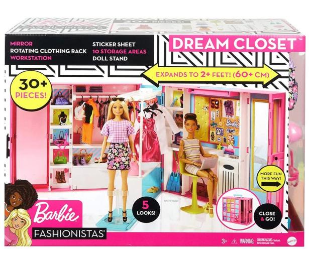 Barbie Wymarzona szafa - 1015714 - zdjęcie
