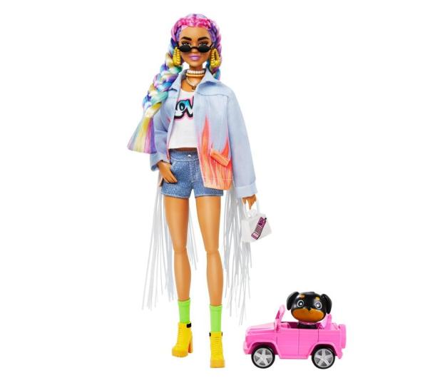 Barbie Fashionistas Extra Moda Lalka z akcesoriami - 1015897 - zdjęcie