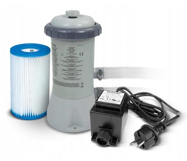 INTEX Pompa filtrująca kartuszowa 12V 28604GS - 1017187 - zdjęcie 2