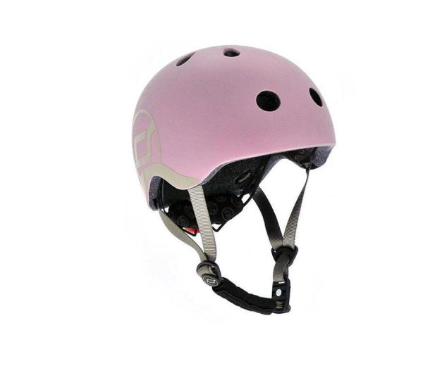 Scoot & Ride Kask Ochronny XXS-S dla dzieci 1-5lat Rose - 580279 - zdjęcie