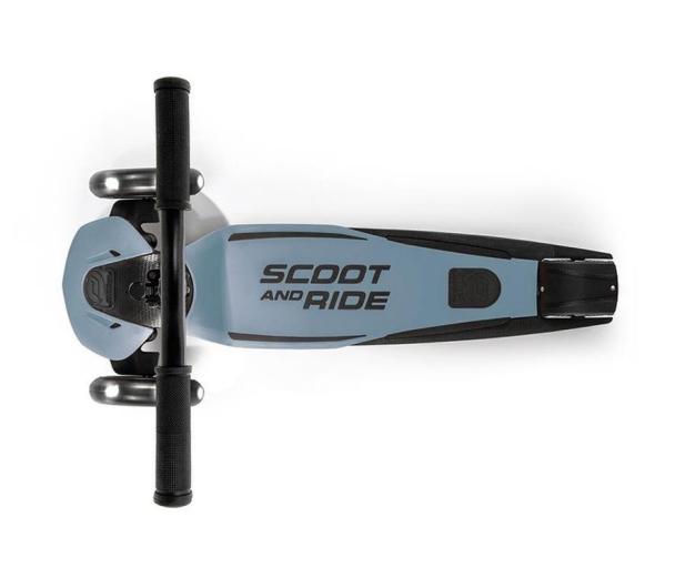 Scoot & Ride Highwaykick 5 LED Hulajnoga balansowa 5+ Steel - 1017194 - zdjęcie 2