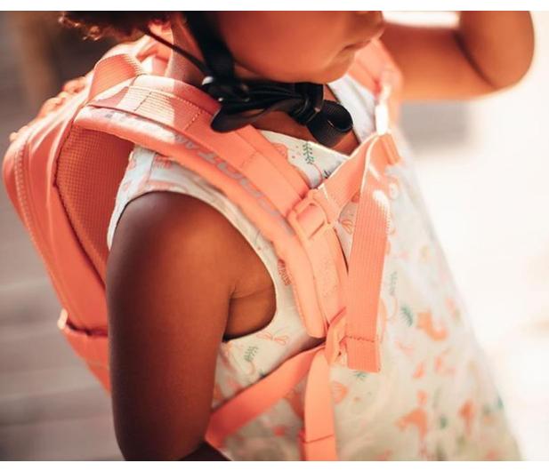 Scoot & Ride Plecak na hulajnogę dla dzieci 1-5 lat Peach - 1017220 - zdjęcie 3