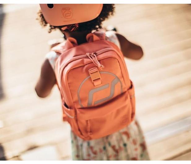 Scoot & Ride Plecak na hulajnogę dla dzieci 1-5 lat Peach - 1017220 - zdjęcie 4