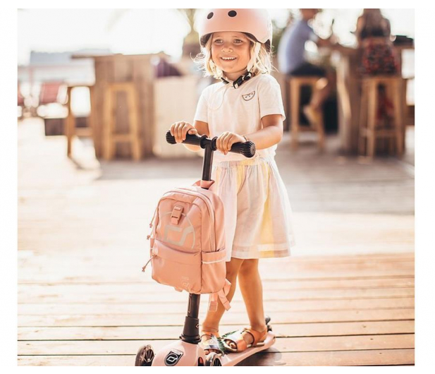 Scoot & Ride Plecak na hulajnogę dla dzieci 1-5 lat Rose - 1017221 - zdjęcie 5