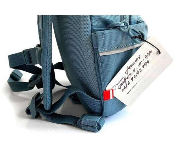 Scoot & Ride Plecak na hulajnogę dla dzieci 1-5 lat Steel - 1017222 - zdjęcie 3