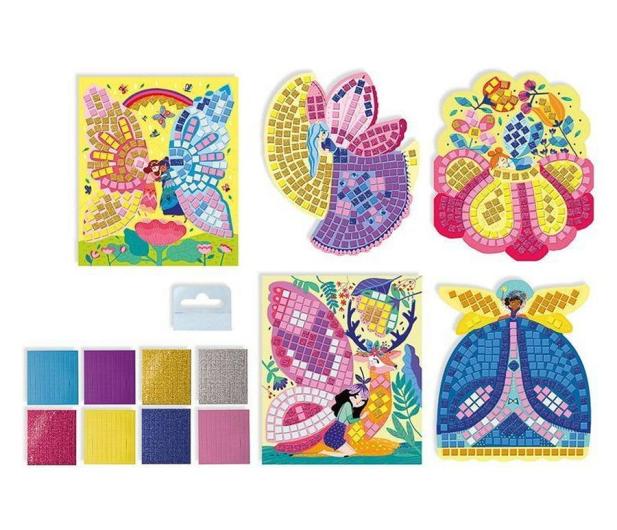Janod Zestaw kreatywny Mozaika Wróżki 5+ - 1017249 - zdjęcie 2
