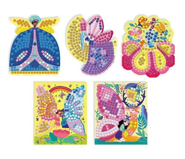 Janod Zestaw kreatywny Mozaika Wróżki 5+ - 1017249 - zdjęcie 5