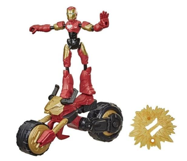 Hasbro Avengers Bend and Flex Iron Man + motocykl - 1015916 - zdjęcie