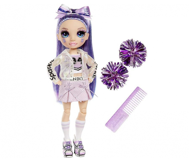 Rainbow High Cheer Doll - Violet Willow (Purple) - 1014497 - zdjęcie