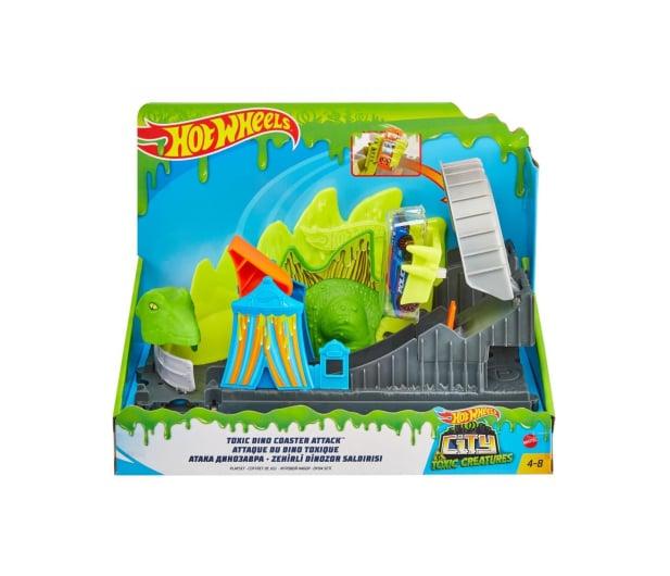 Hot Wheels Dino Coaster Zestaw z pojazdem szturmowym - 1018072 - zdjęcie 5