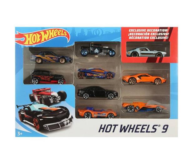 Hot Wheels Zestaw samochodzików 9-cio pak - 1018189 - zdjęcie