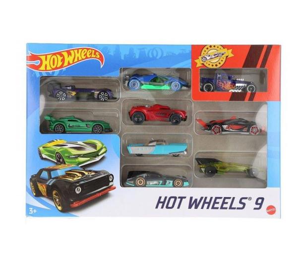 Hot Wheels Zestaw samochodzików 9-cio pak - 1018189 - zdjęcie 3