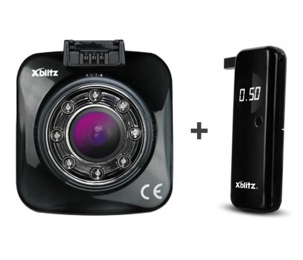 "Xblitz GO SE FullHD/2""/170 + Alkomat Xblitz Unlimited  - 647159 - zdjęcie"