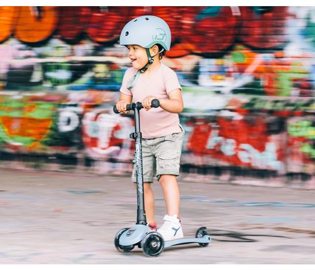 Scoot & Ride Highwaykick 3 LED Hulajnoga Balansowa 3+ Steel - 1014696 - zdjęcie 5