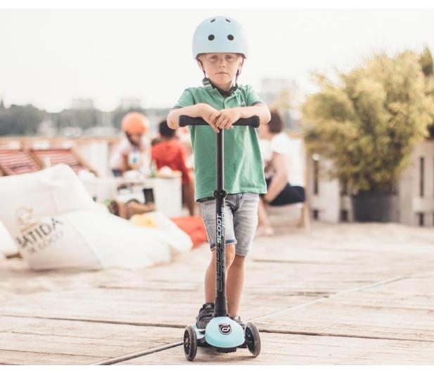 Scoot & Ride Highwaykick 3 LED Hulajnoga Balansowa 3+ Blueberry - 580581 - zdjęcie 4