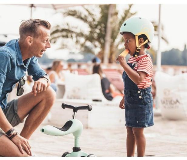 Scoot & Ride Kask Ochronny XXS-S dla dzieci 1-5 lat Kiwi - 580273 - zdjęcie 4