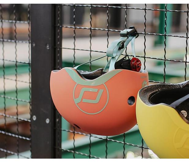 Scoot & Ride Kask Ochronny XXS-S dla dzieci 1-5 lat Peach - 580275 - zdjęcie 5