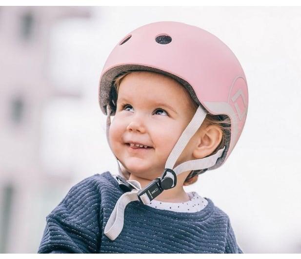 Scoot & Ride Kask Ochronny XXS-S dla dzieci 1-5lat Rose - 580279 - zdjęcie 3