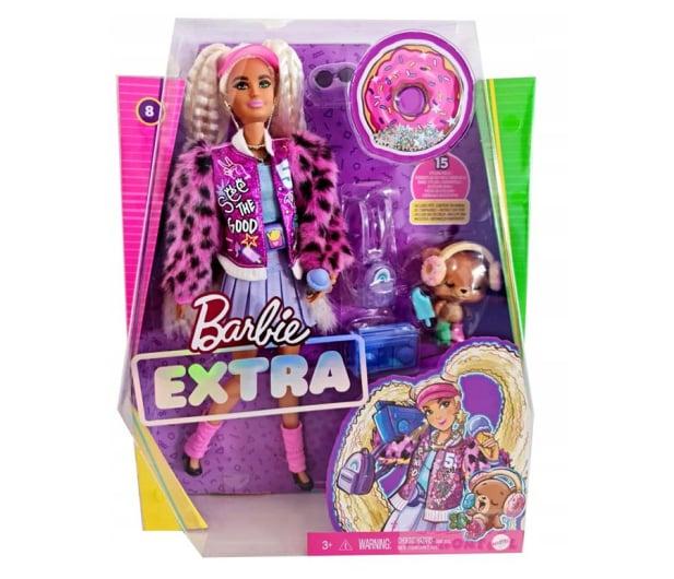 Barbie Fashionistas Extra Moda Lalka z akcesoriami - 1019254 - zdjęcie 3