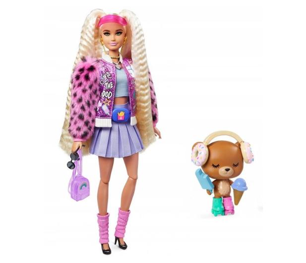Barbie Fashionistas Extra Moda Lalka z akcesoriami - 1019254 - zdjęcie