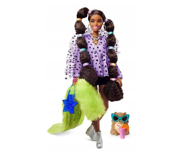 Barbie Fashionistas Extra Moda Lalka z akcesoriami - 1019252 - zdjęcie